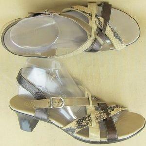 Munro American US 10.5 M Women Strappy Sandal 2″